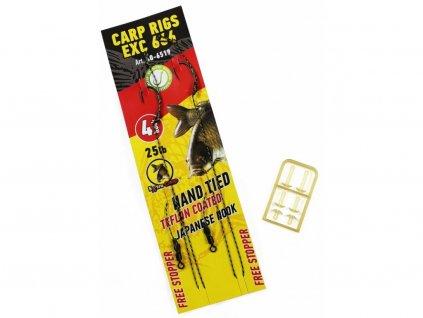 Extra Carp Návazce Rig EX 666 Barbless