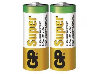 Alkalická speciální baterie GP 910A (LR1) 1,5 V, 2 ks