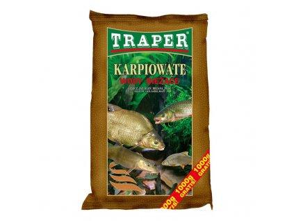 Traper Krmítková směs POPULAR KAPR NA TEKOUCÍ VODU 5KG
