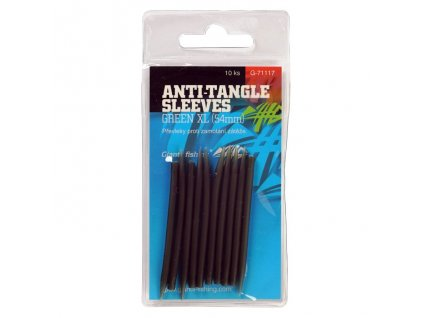 Giants Fishing PŘEVLEKY PROTI ZAMOTÁNÍ ANTI-TANGLE SLEEVES GREEN XL/10KS ( 54MM )