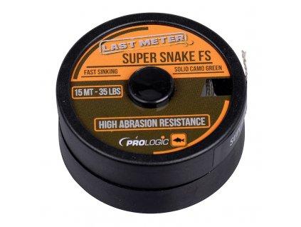 Prologic Návazcová Šňůrka Super Snake FS 15 m Camo