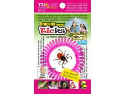 Trixline Repelentní náramek proti klíšťatům Ticks TR 352