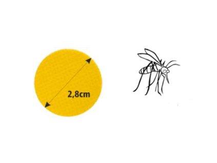 Trixline Repelentní samolepky proti komárům TR 624