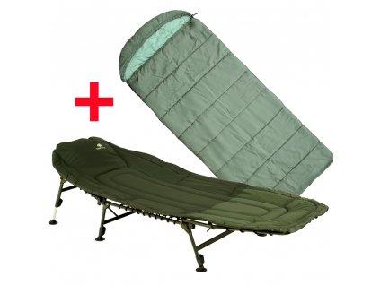 Giants Fishing Lehátko Specialist Bedchair 6Leg  + Spací pytel