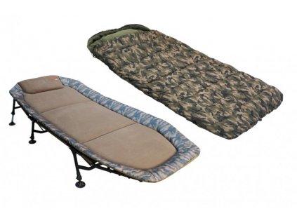 zfish camo set lehatko spacak bedchair sleeping bag