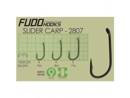 FUDO Háčky SLIDER CARP