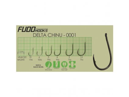FUDO Háčky s lopatkou DELTA CHINU