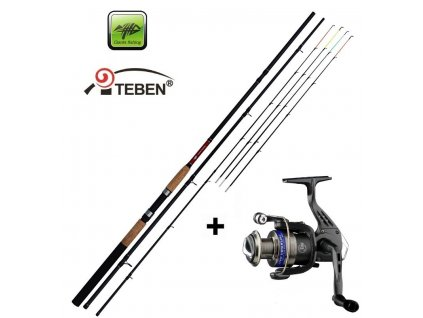 Giants Fishing Prut CLX Feeder TR 12ft Medium + naviják Teben LV300 zdarma!