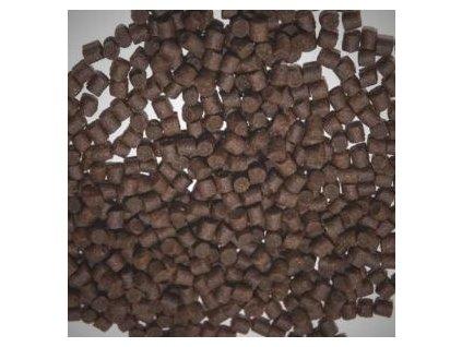 Mikbaits Pstruží granule 4mm potápivé + 100ml lososový olej