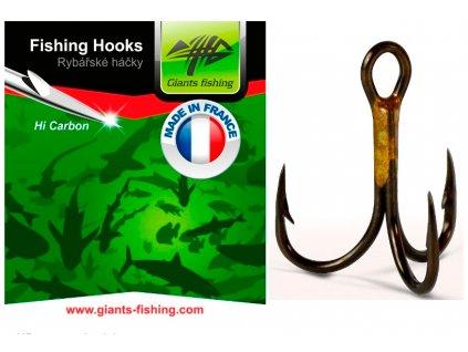 Giants Fishing Trojháčky 1X Strong 1ks