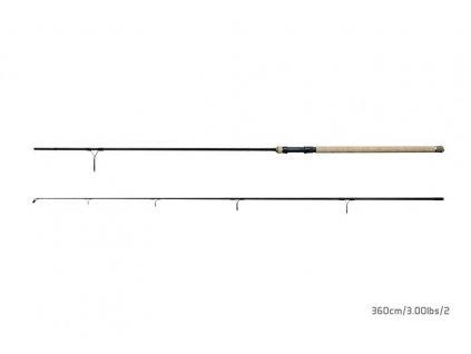 Delphin Prut ARMADA CARP BlackWay  2 díly 360cm/3,00lbs