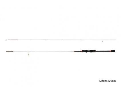 Delphin Prut CALYPSO drop shot light 220cm/5-15g