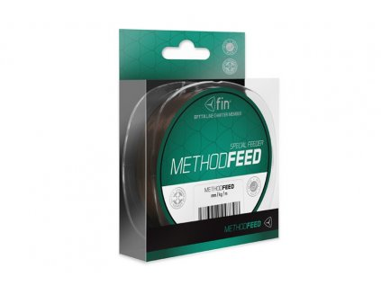 FIN METHOD FEED 200m/hnědá