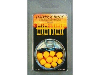 Enterprise Tackle Měkká plovoucí kukuřice se zarážkami 10ks