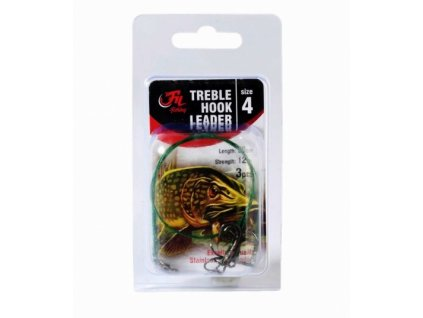Fil Fishing Lanko s Trojhákem Treble Hook Leader