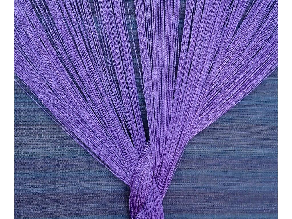 provázková fialová