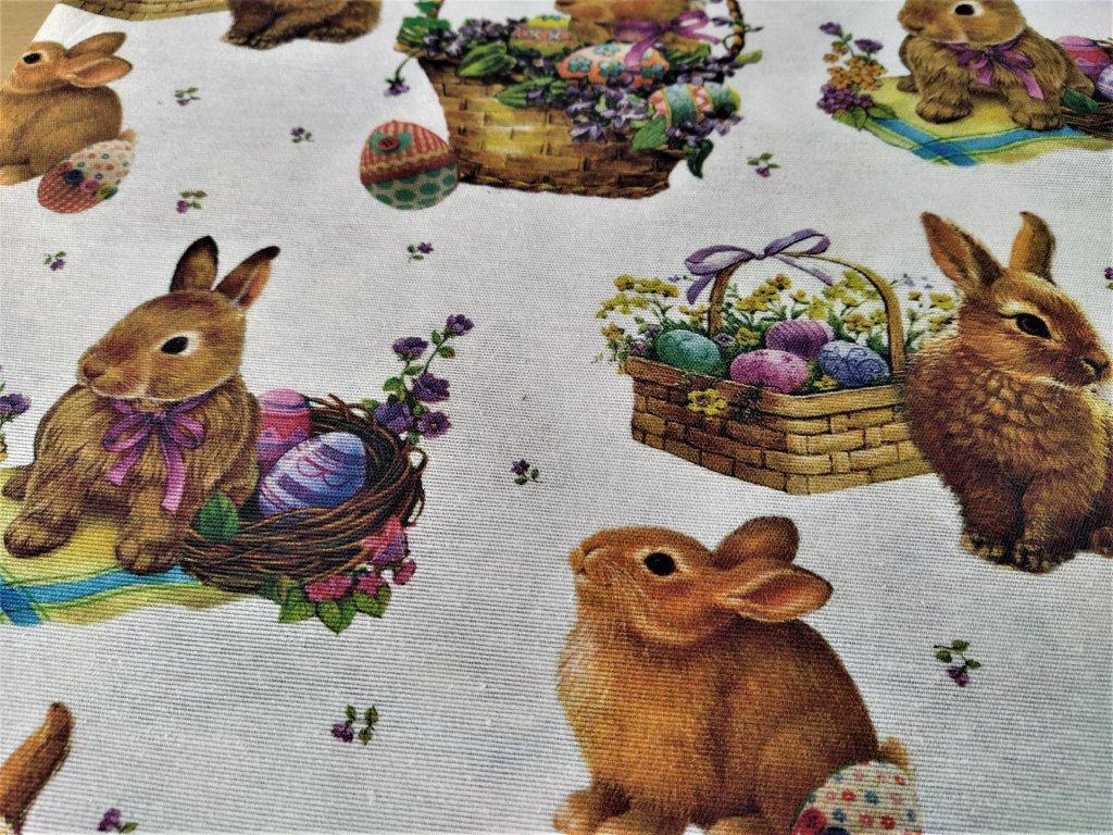 Velikonoční dekorační látka