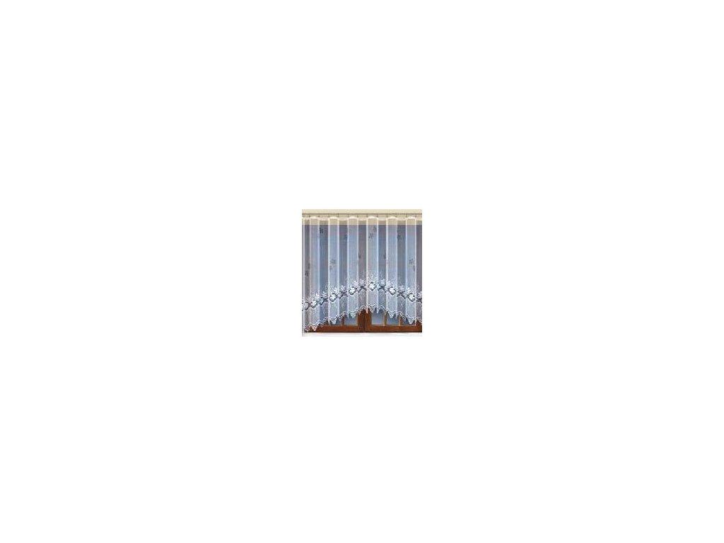 Kusová oblouková záclona Antonella