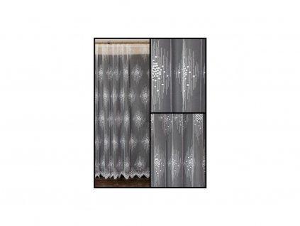 Záclona žakárová Rodan - zbytky