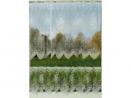 Vitrážová záclona Rodan - zbytky