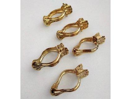 Dunajská dekorativní spona - zlatá