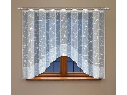 Oblouková kusová záclona Aurelie