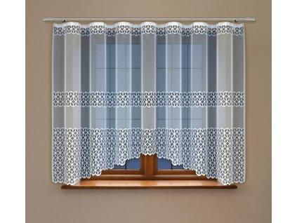 Oblouková záclona Hana