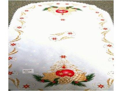 Vánoční běhoun 50 x 100 cm