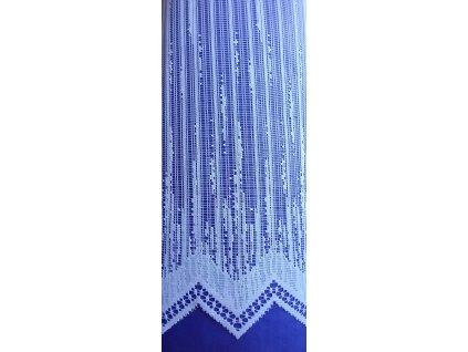 Záclona žakárová Prší vzor 4006