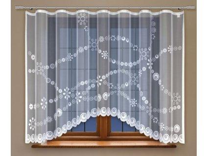 Moderní kusová záclona