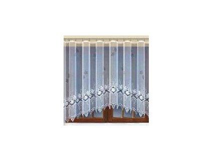 Záclona žakárová oblouková CI22257