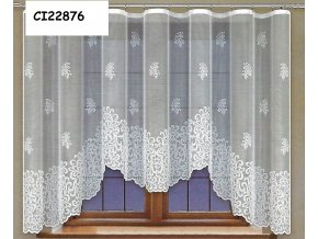 Hotová oblouková záclona