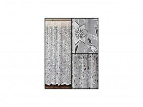 Záclona žakárová Samara - zbytky