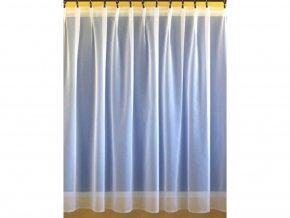 Voálová záclona s olůvkem