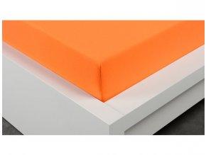 Prostěradlo oranžové