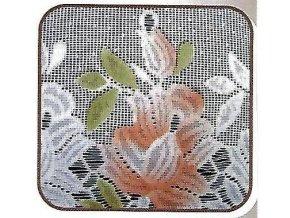 Tamiza vitrazky sada detail terakota