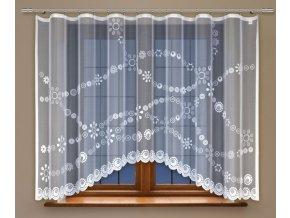 Moderní kusová záclona Monica