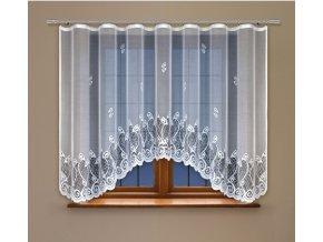 Kusová oblouková záclona