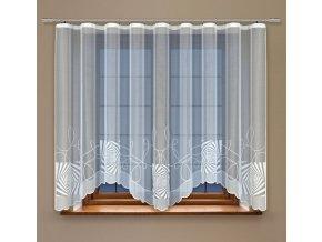 Moderní oblouková záclona