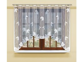 Moderní záclona do ložnice a obývacího pokoje