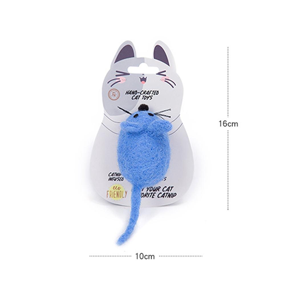 hračky pro kočky myš