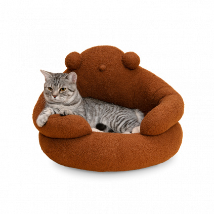 Pelíšek pro kočky medvěd (6)