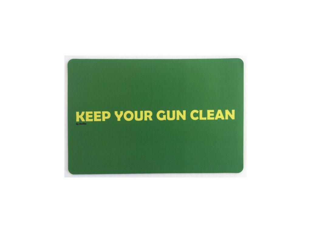 podlozka keep your gun clean
