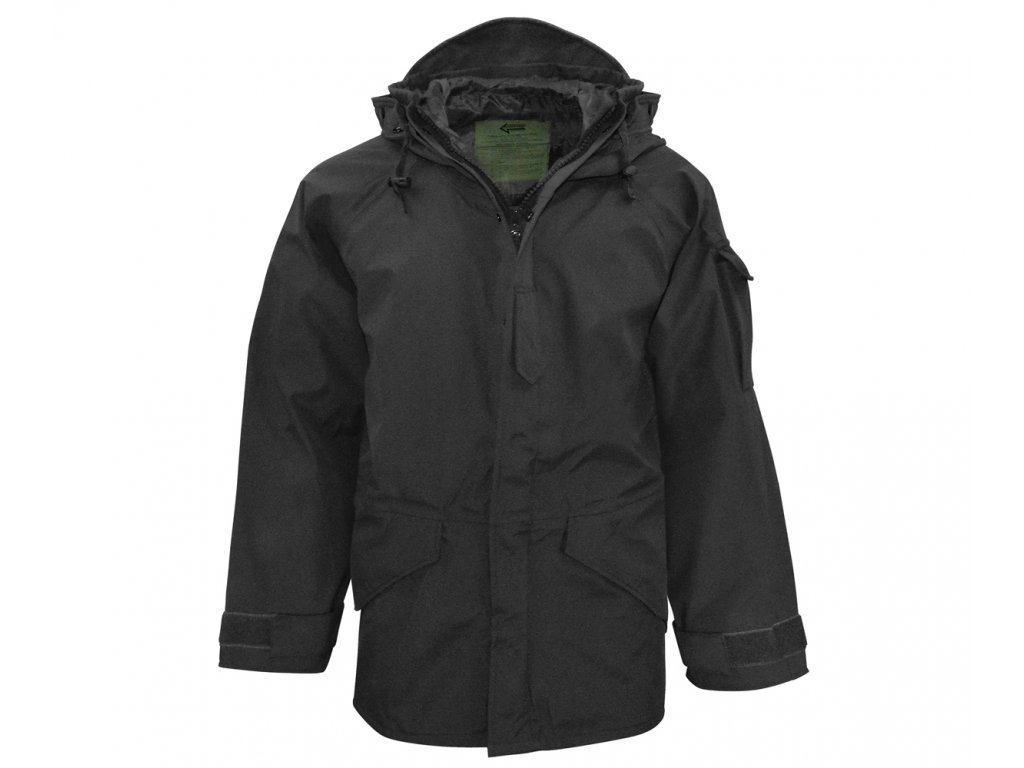 US-Style Cold Weather Rainparka - černá
