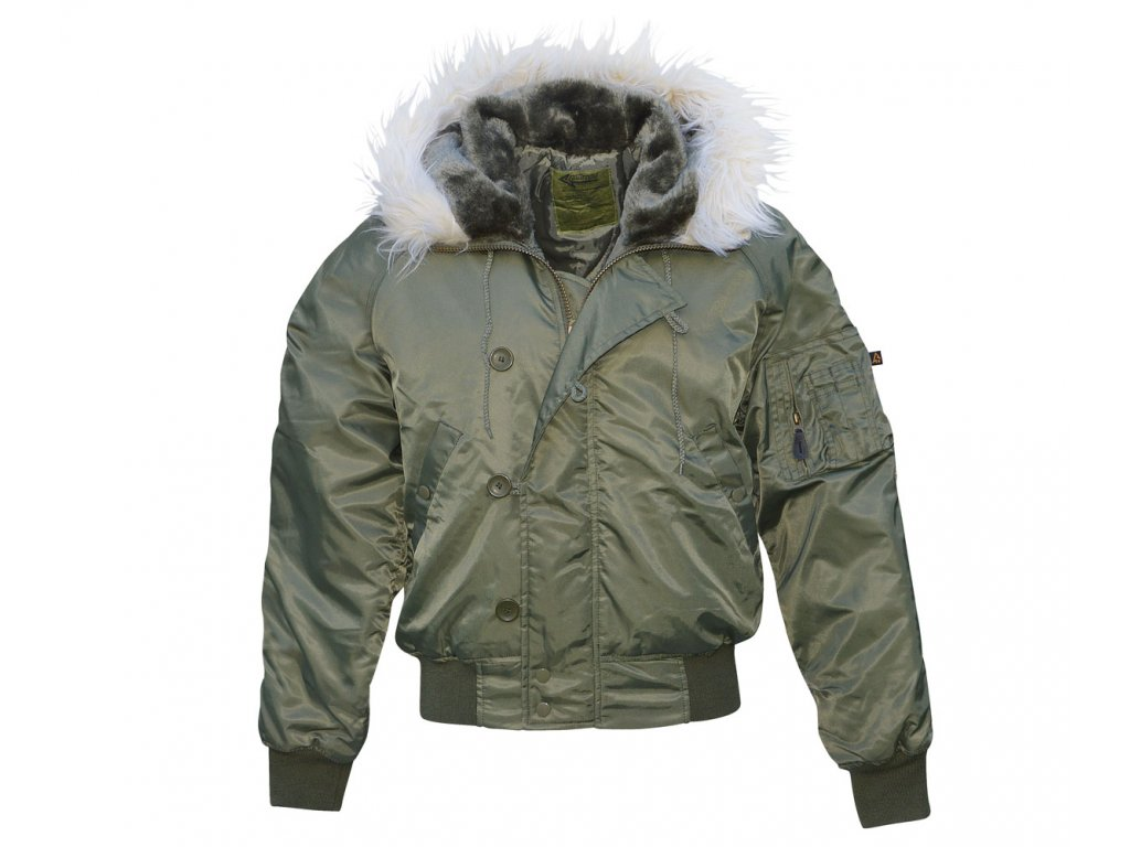 CI N2B Flight Jacket Oliv 1200x1000