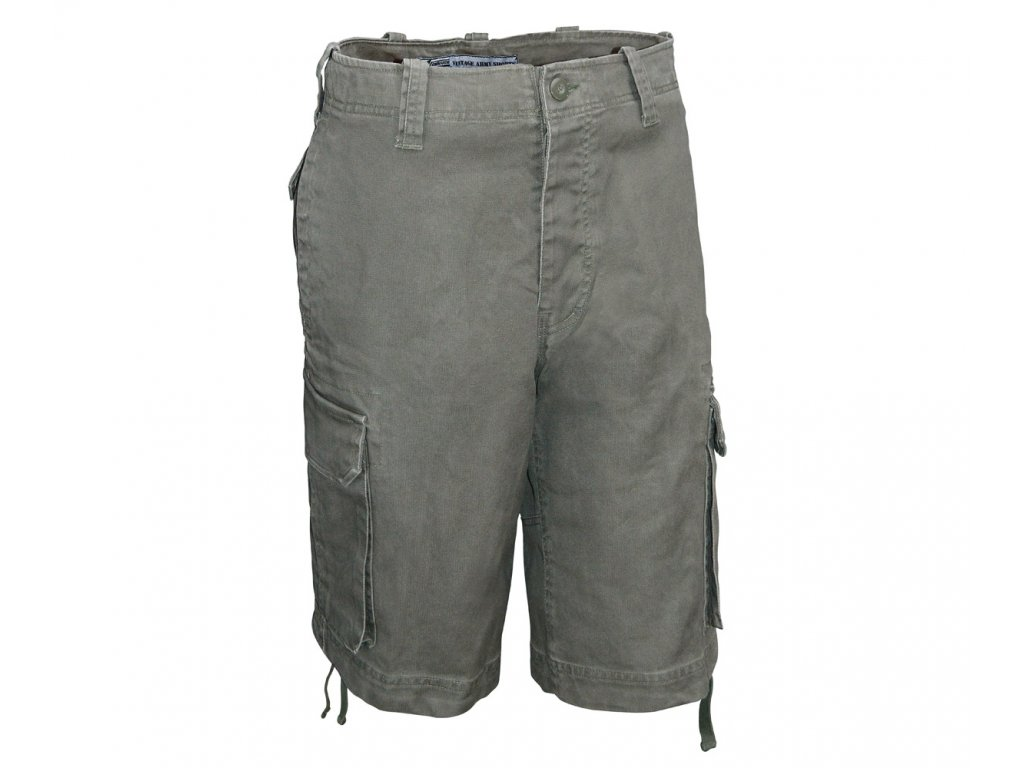 CI Vintage Army Shorts Oliv 1200x1000
