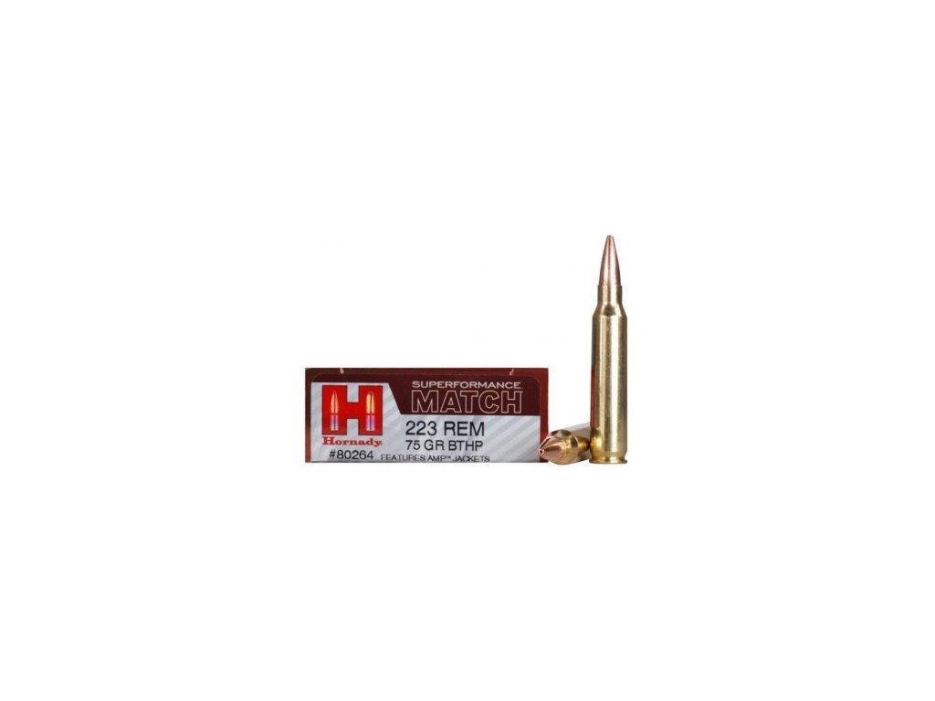 Náboj kulový Hornady, Superformance Match, .223Rem