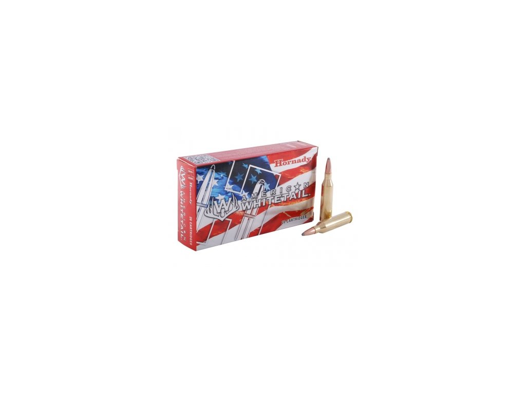 Náboj kulový Hornady, American Whitetail, .243Win