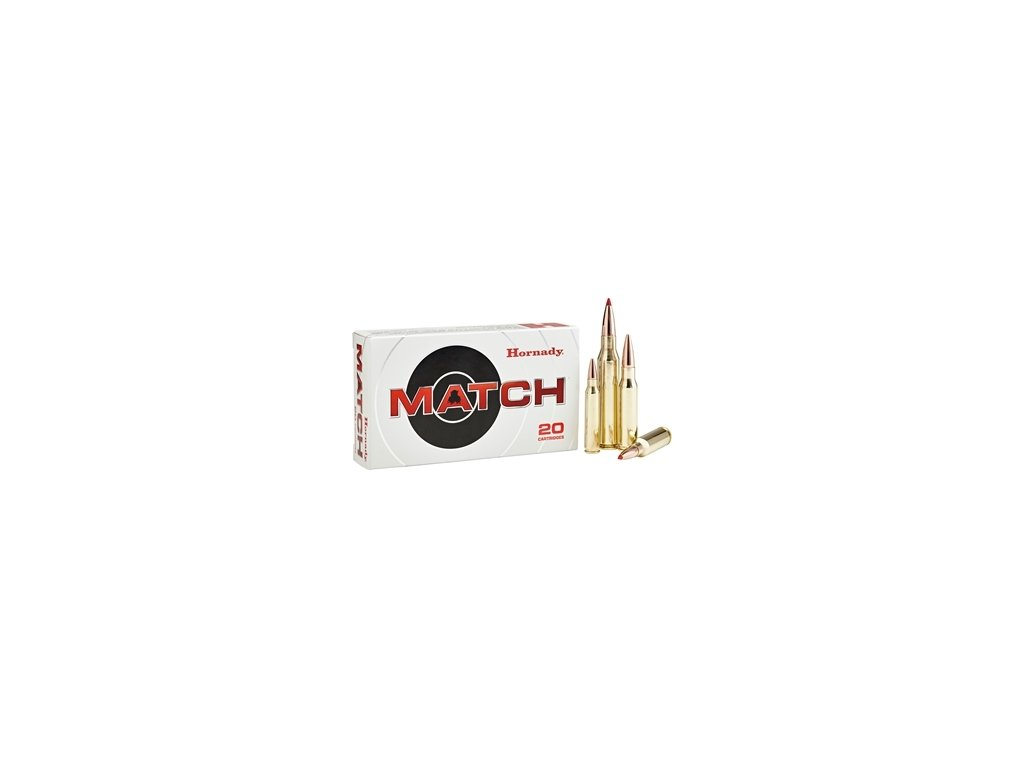 Náboj kulový Hornady, Match, 6,5mm Creedmoor