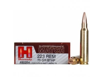 Náboj kulový Hornady, Superformance Match, .223Rem